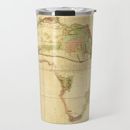Map of Africa by Aaron Arrowsmith (1802) Travel Mug