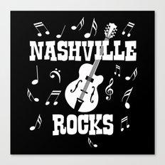 Nashville Rocks Canvas Print