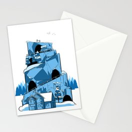 Blue Adventure Stationery Cards