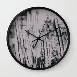 cactus 3 Wall Clock