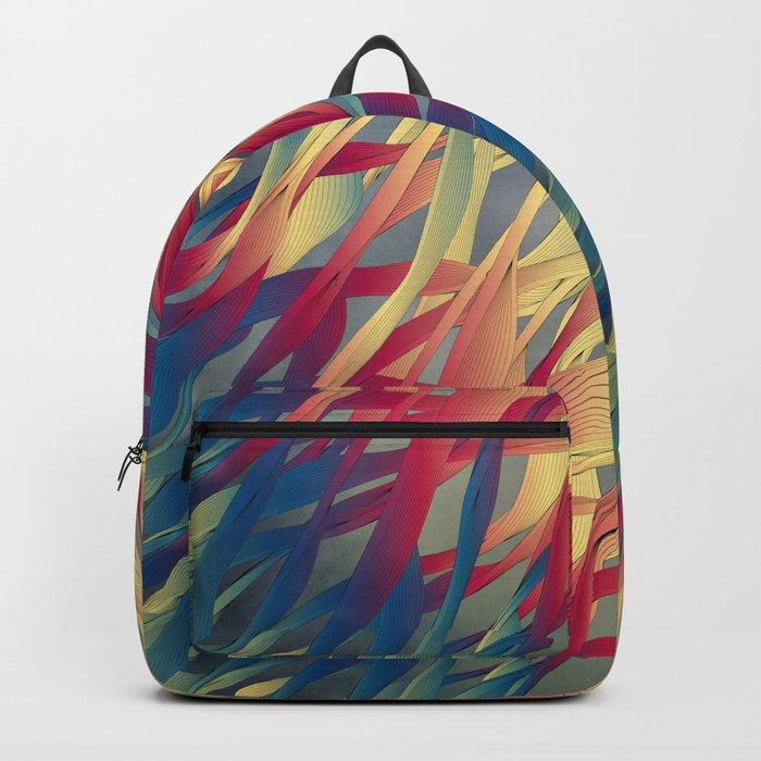 Modern Aquatic Nightsongs Backpack