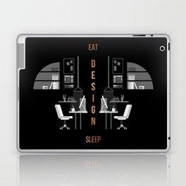 Eat Sleep Design Copper Laptop & iPad Skin