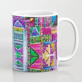 Tribal Patchwork Pink Coffee Mug