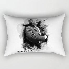 Ignacy Jan Paderewski - Polish Prime Minister, Polish Pianist Rectangular Pillow
