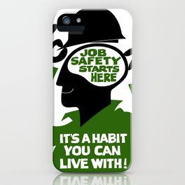 Job safety iPhone Case