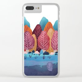 Winter landscapes 2 Clear iPhone Case