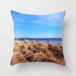 North Atlantic Ocean Throw Pillow