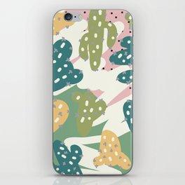 Cactus Pattern iPhone Skin