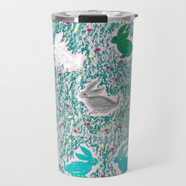 painting for kids-the hares Travel Mug