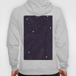 Universe with planets and stars seamless pattern, cosmos starry night sky 005 Hoody