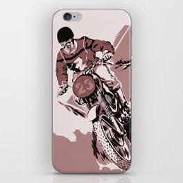 Motocross, the crosser iPhone Skin