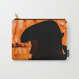 Face profile orange Carry-All Pouch