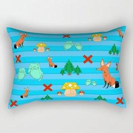 Orgami forest Rectangular Pillow