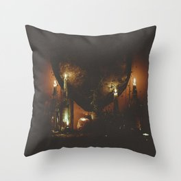 night time visions. Throw Pillow