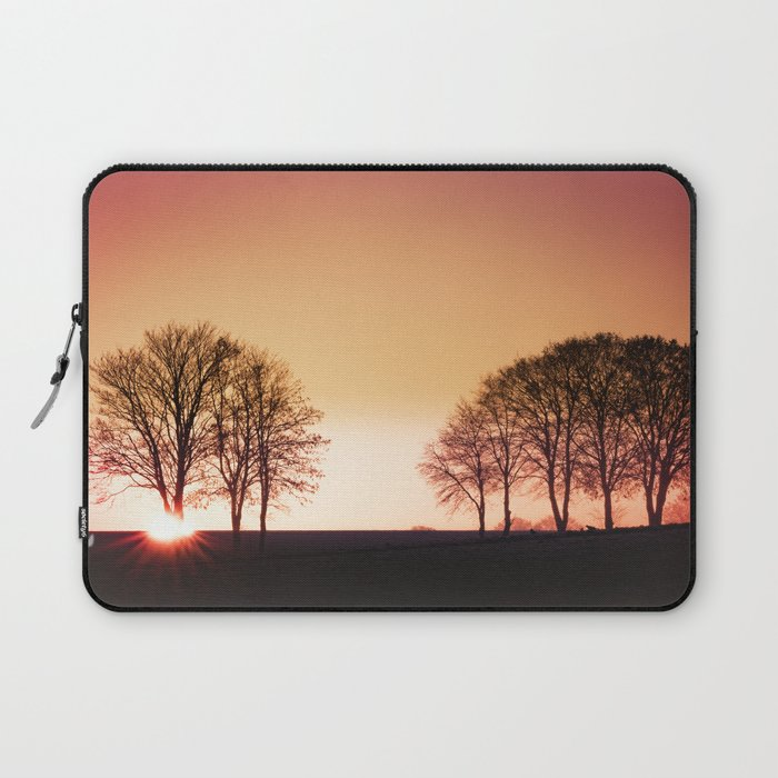 Powerful Light Of Nature Laptop Sleeve By Tanjariedel