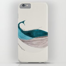 there´s a whale  Slim Case iPhone 6s Plus