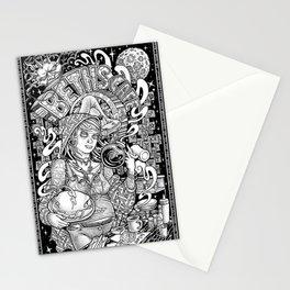 Beth's Cafe Graveyard Waitress Stationery Cards