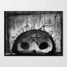 Rabbit Séance Canvas Print