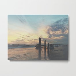 Destin Harbor Metal Print