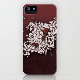 Rubies iPhone Case