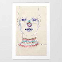 i nose it Art Print