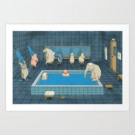 The Bathers Kunstdrucke