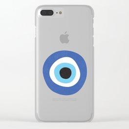 Evi Eye Symbol Clear iPhone Case