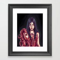 Flesh Maiden Framed Art Print