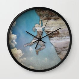 Climb On II Wall Clock