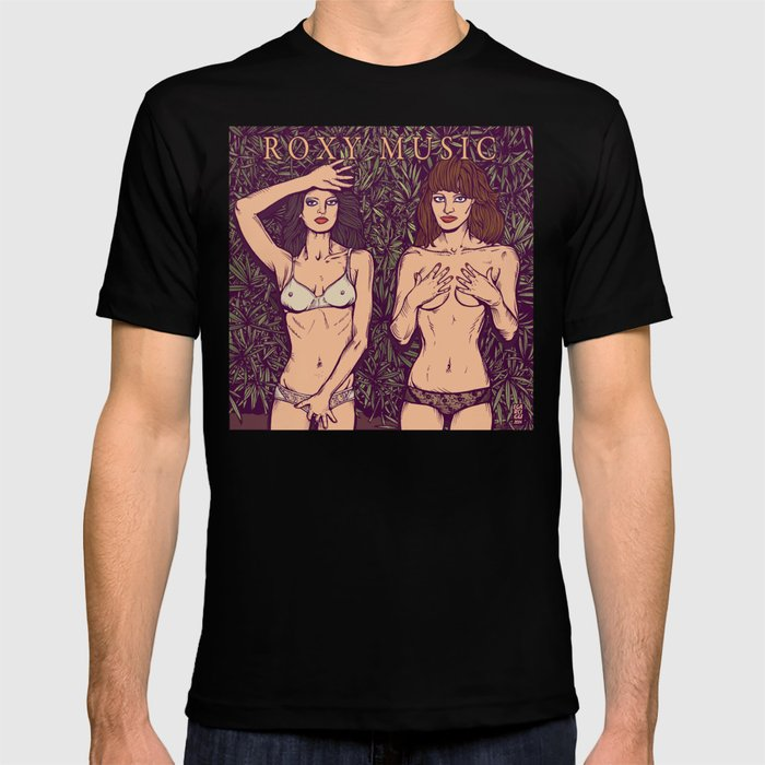 94dd26f5 ROXY MUSIC - Country Life T-shirt by egarcigu | Society6
