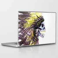 native Laptop & iPad Skins featuring Native by @Subliminal_society