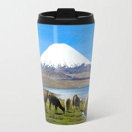 Chungara Lake, Chile Travel Mug