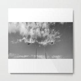 La ira de Dios (B/N) Metal Print
