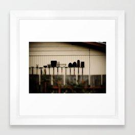 Oregon (gothic)  Framed Art Print
