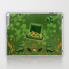 Happy st. patricks day Laptop & iPad Skin