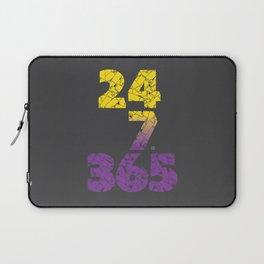 24-7/365 (Purple hustle) Laptop Sleeve