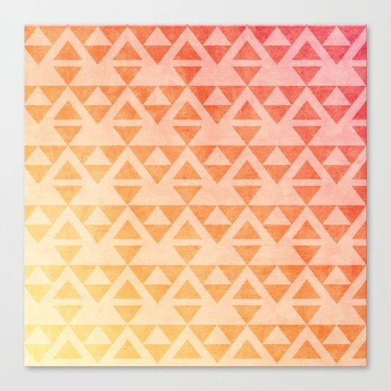 Aztec Pattern 11 Canvas Print