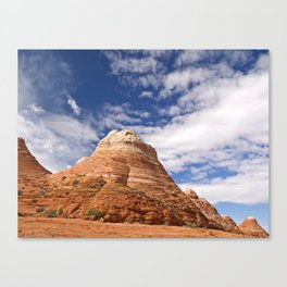 The Coyote Buttes 2 Canvas Print