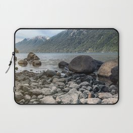 Lake in the mountains Laptop Sleeve