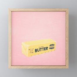 The Butter The Better Framed Mini Art Print