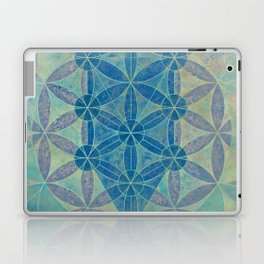 Flower of life Laptop & iPad Skin