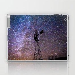 Windmill at Night Laptop & iPad Skin