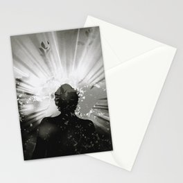 the mask of God Stationery Cards