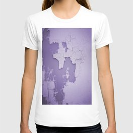 Damaged wall pic in background with purple color, ready for clothes,furnitures, iphone cases T-shirt