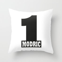 Luka Modric named number 1 of the world Throw Pillow