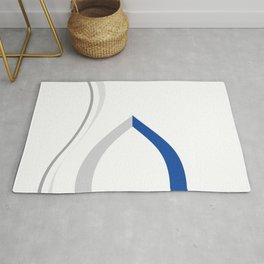Blue and Grey II Rug