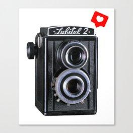 Câmera Photography Canvas Print