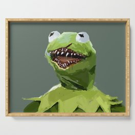 kermit to it Serving Tray