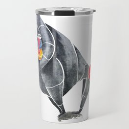 Baboon Travel Mug
