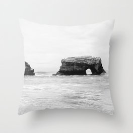natural bridges, sc Throw Pillow